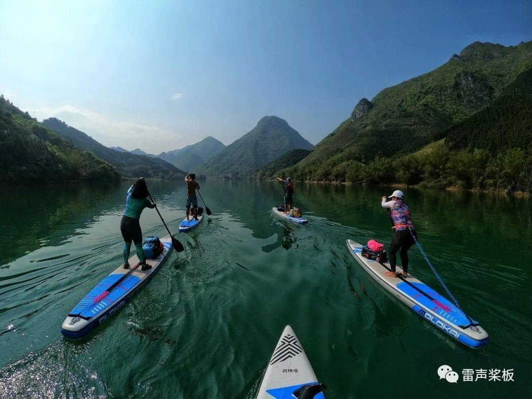 Read more about the article PADDLING IN TIANZHU CITY, CHINA