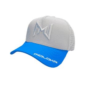 Molokai 2021 Cap (Grey/Blue)
