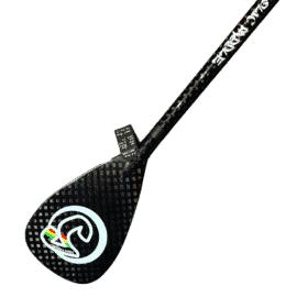 Supaholic Paddle Round Shaft Carbon Fixed